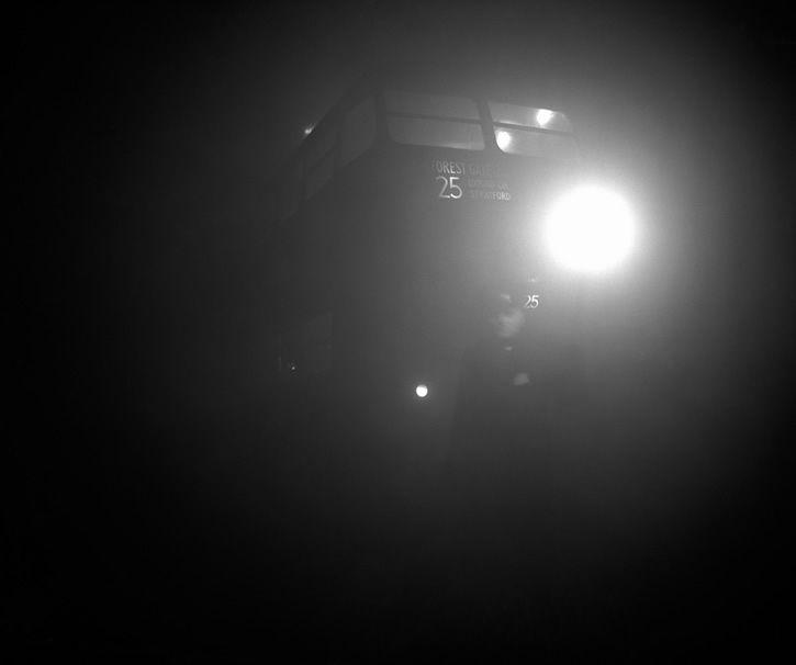Inspector de transporte en londres 1952