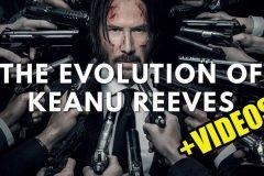 la evolucion de keanu reeves en el cine