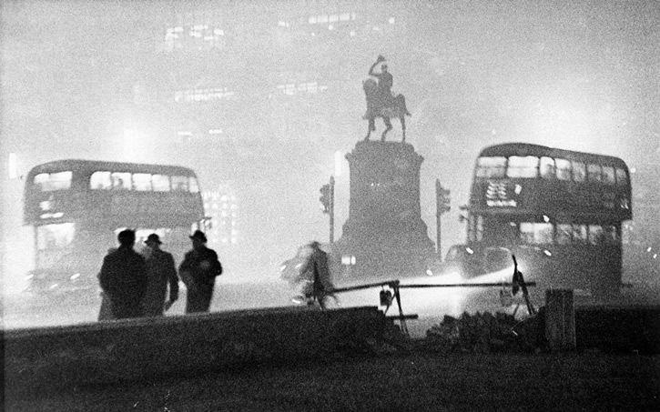 La noche de la gran niebla en londres 1952