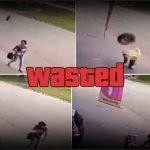 Llanta se desprende de vehículo y golpea a hombre en Brasil