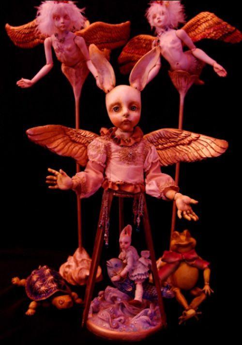 muñecas surrealismo por Mari Shimizu (11)
