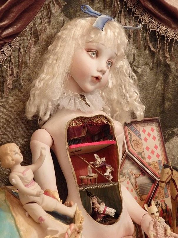 muñecas surrealismo por Mari Shimizu (2)
