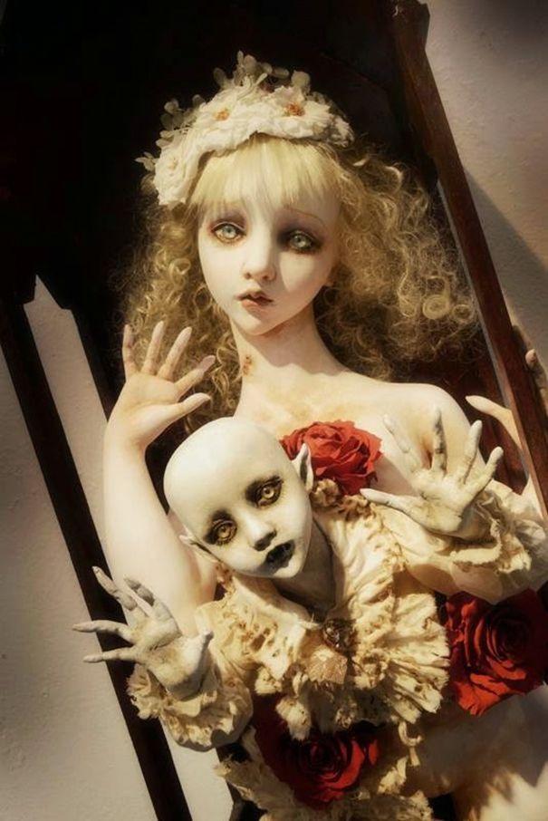 muñecas surrealismo por Mari Shimizu (4)