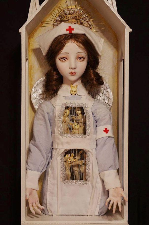 muñecas surrealismo por Mari Shimizu (5)