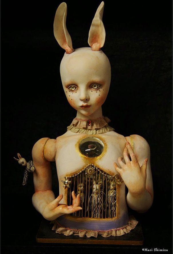 muñecas surrealismo por Mari Shimizu (6)