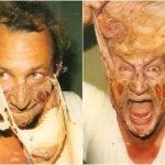 13 fotografías raras tras bastidores en películas de terror
