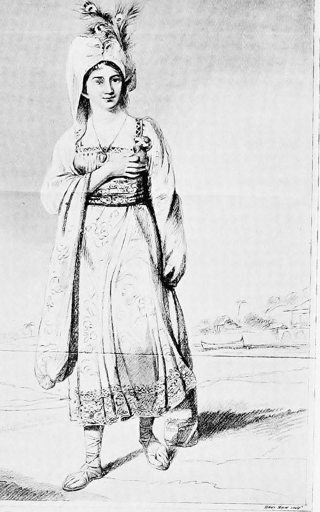 princesa Caraboo dibujo