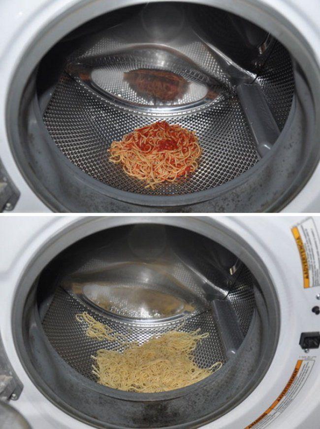 quitar la salsa a la pasta
