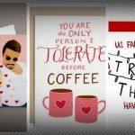 Divertidas tarjetas de San Valentín para escapar de lo tradicional.