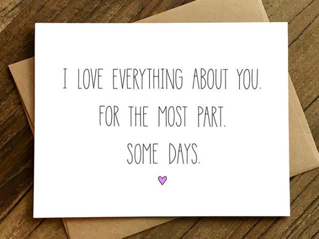 tarjetas san valentin divertidas a veces