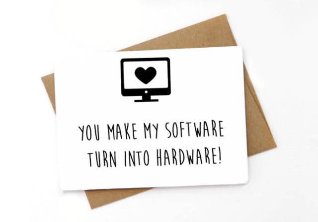 tarjetas san valentin divertidas geek