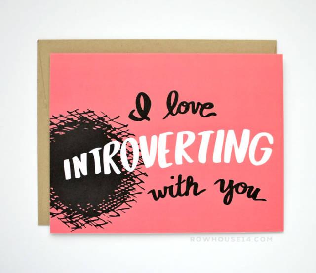 tarjetas san valentin divertidas introvertido
