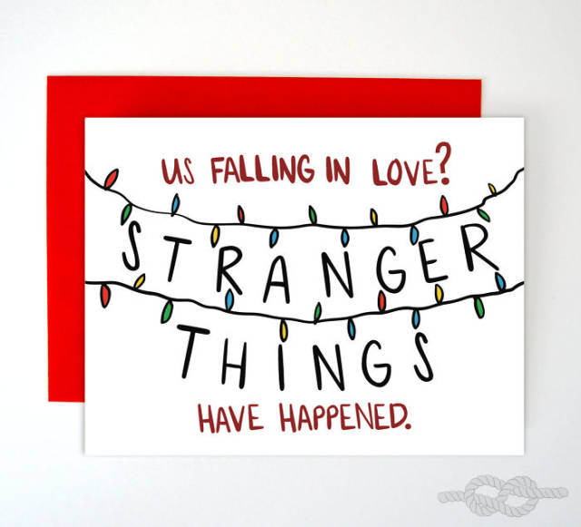tarjetas san valentin divertidas stranger things
