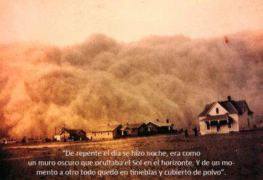 Tormenta de arena portada dust bowl