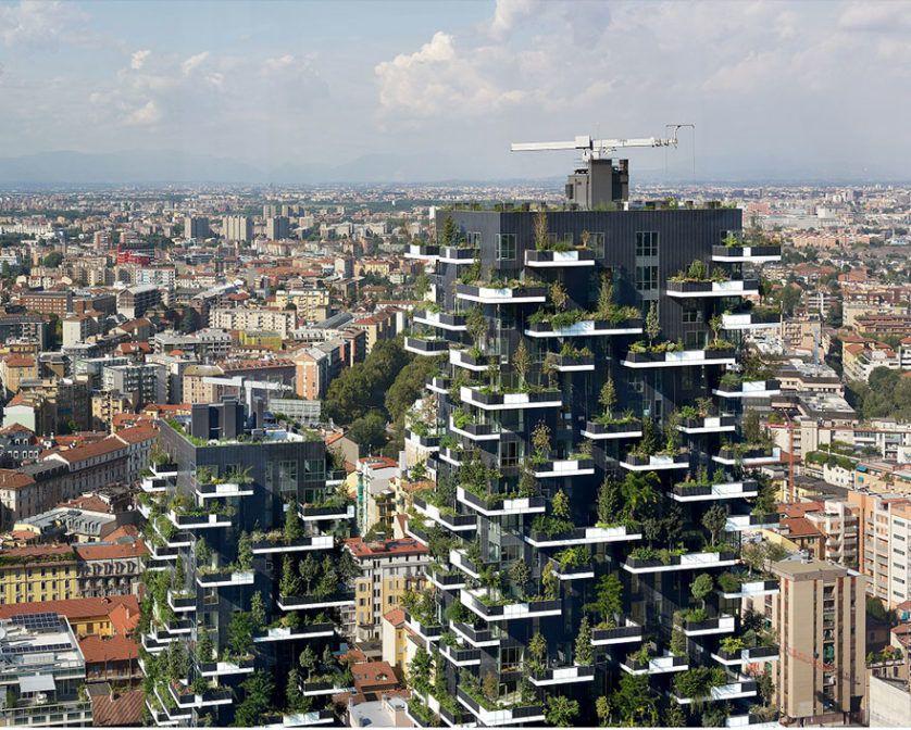 torre bosque vertical en milan