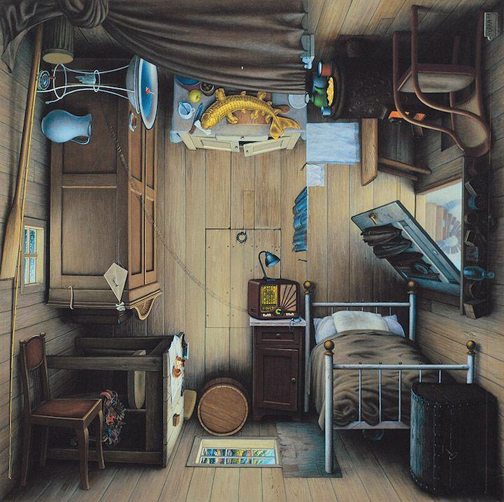 Jacek Yerka pintura surrealista (4)