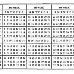 Un calendario con 13 meses