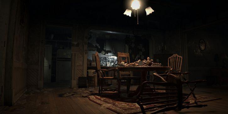 casa aterradora interior