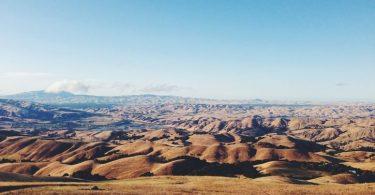 desierto del sahara vista panoramica