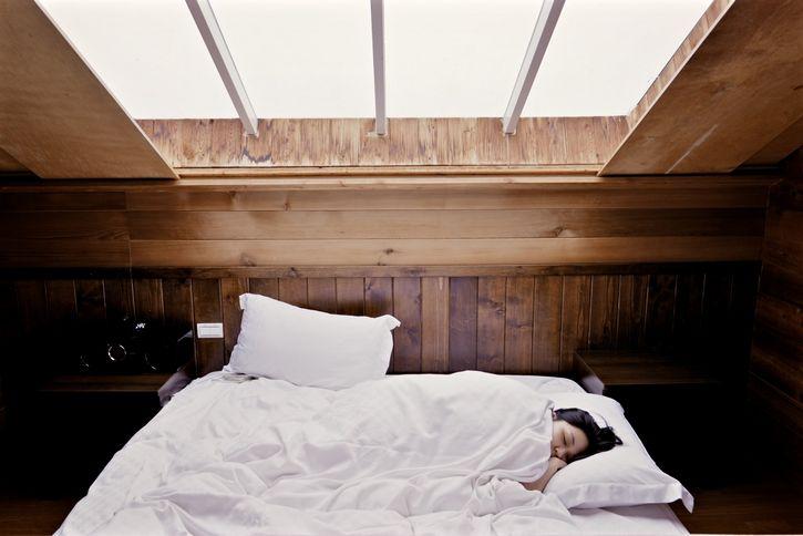 durmiendo placidamente