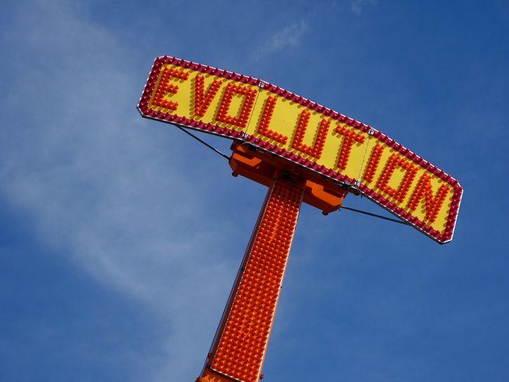 evolucion letrero ingles
