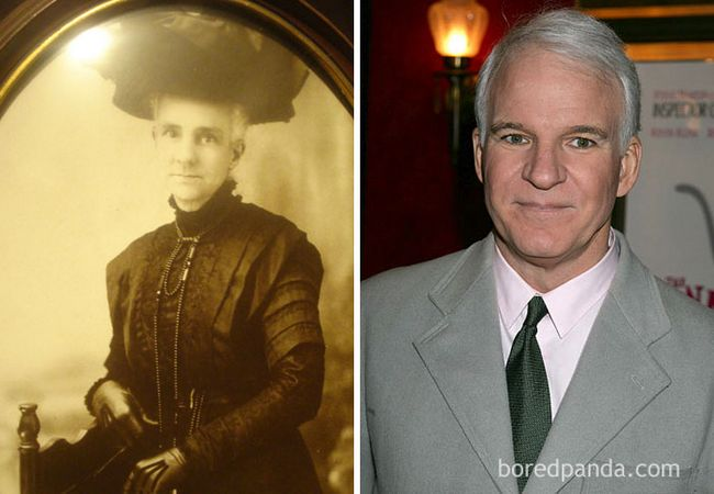 famosos parecidos personas del pasado (2)