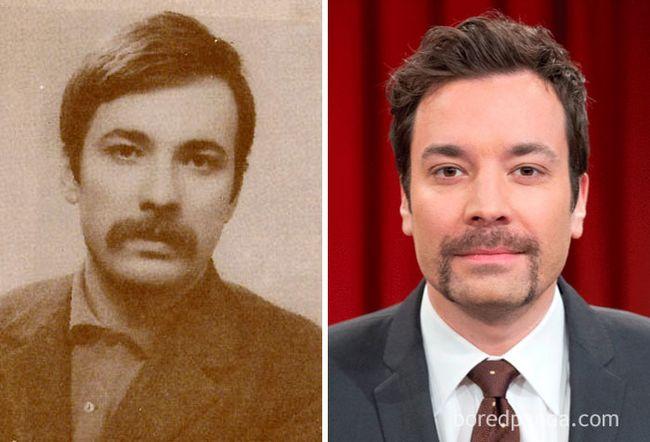 famosos parecidos personas del pasado (7)