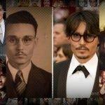 14 famosos parecidos con personas del pasado