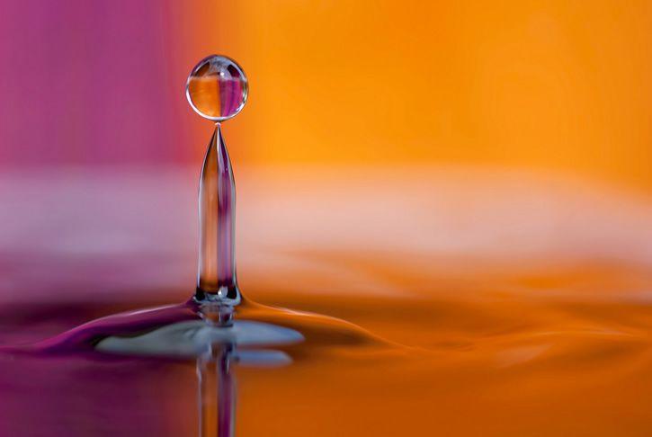 liquido fluido gota superficie