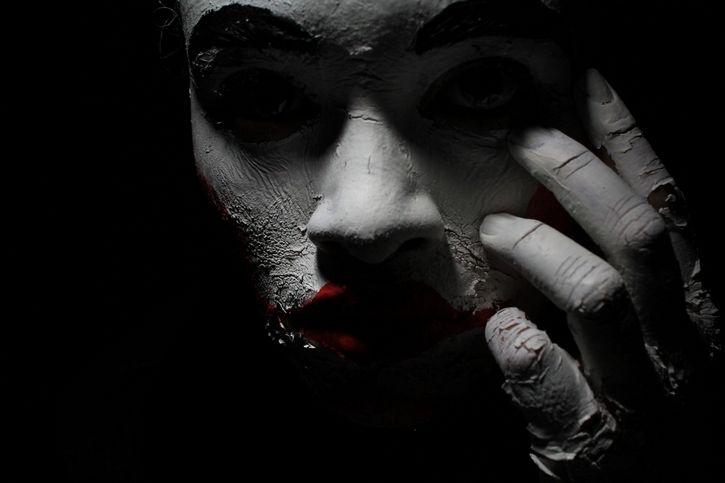 mascara rostro oculto oscuridad