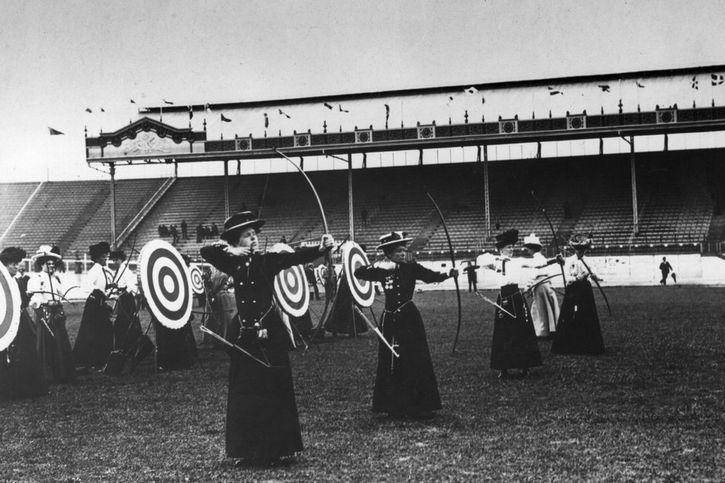 mujeres arqueras