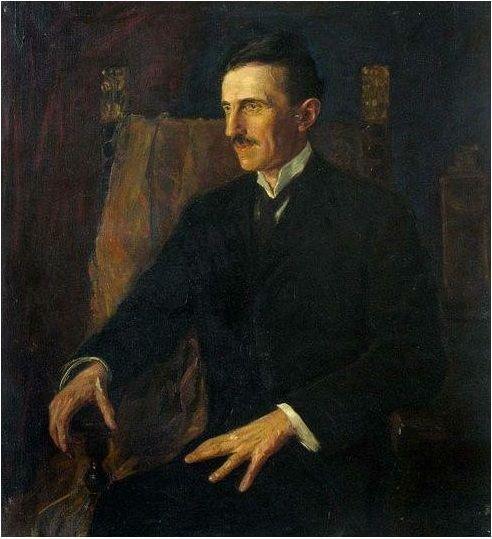 nikola tesla retrato
