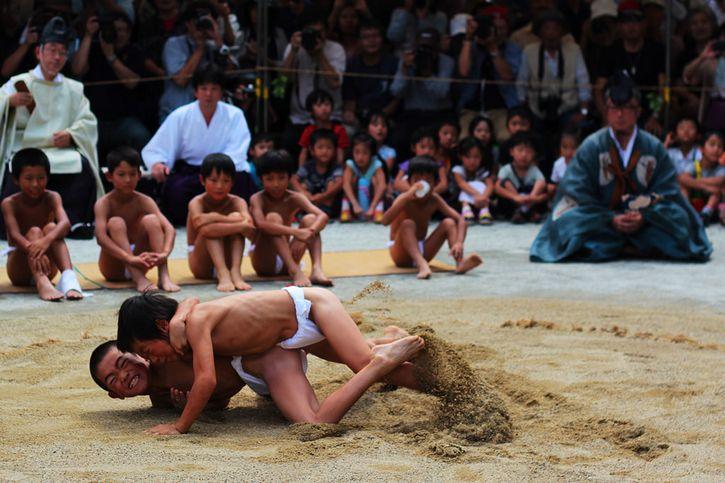 peleadores sumo delgados