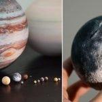 Un Sistema Solar 3D que cabe en la palma de la mano
