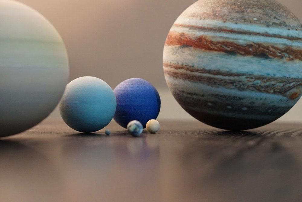 sistema solar miniatura 3D (3)