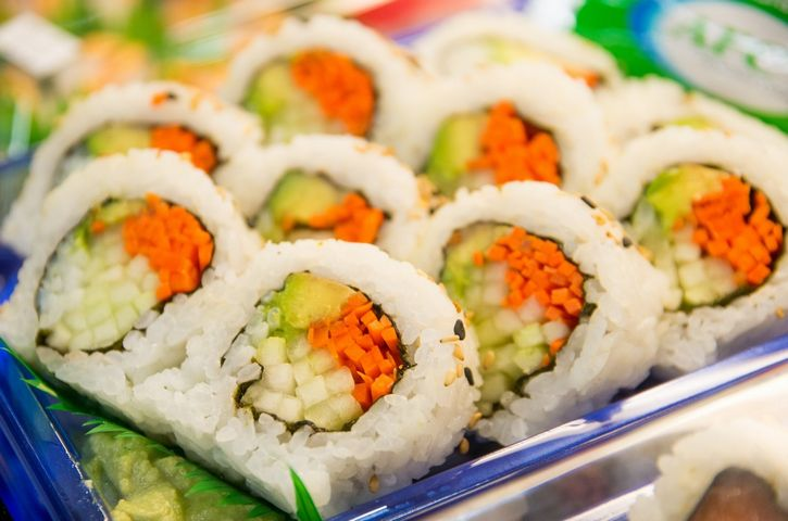 sushi de verduras