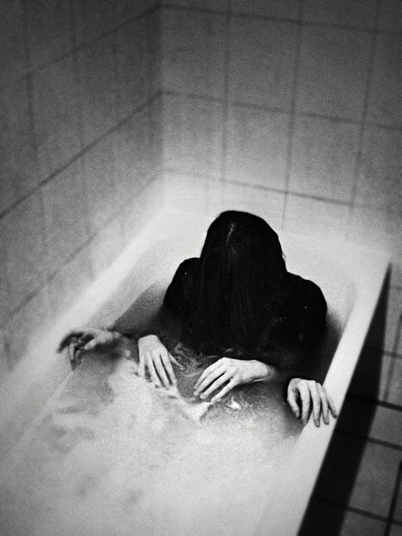 terror en el baño