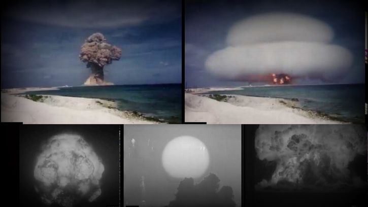 videos pruebas nucleares ineditos