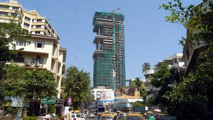 Antilia Mumbai en india