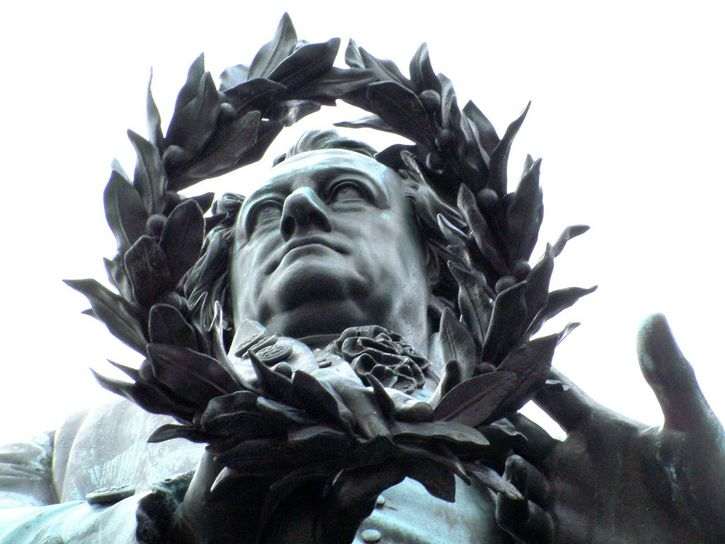 Goethe–Schiller Monumento en Weimer Alemania