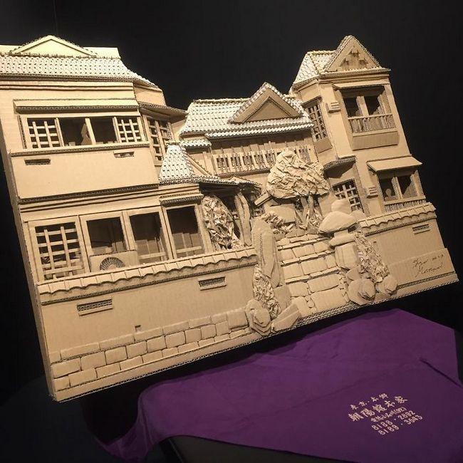 Monomi Ohno esculturas de cartón (1)