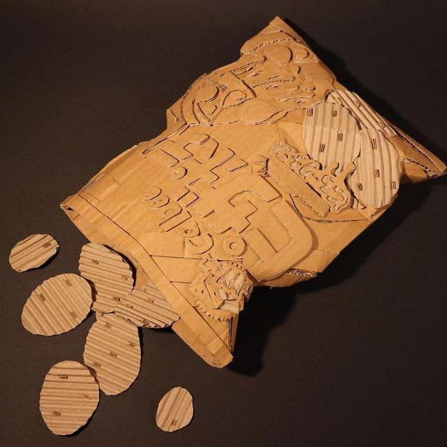 Monomi Ohno esculturas de cartón (14)