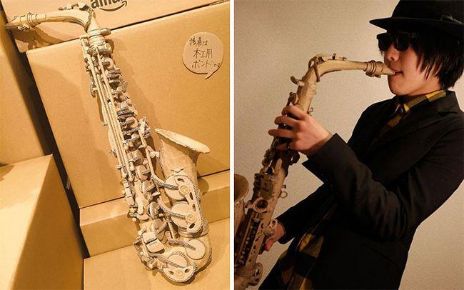 Monomi Ohno esculturas de cartón (15)