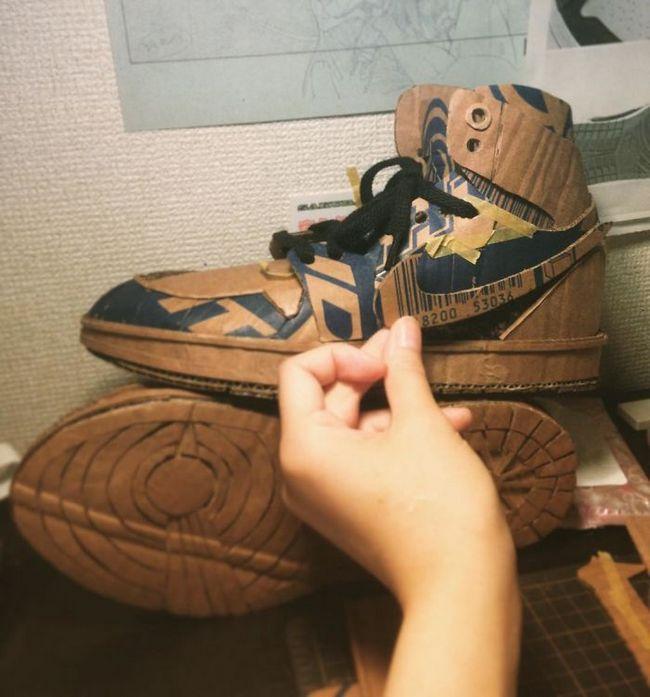 Monomi Ohno esculturas de cartón (17)