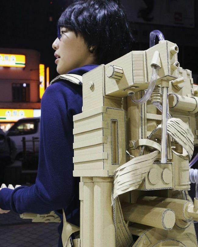 Monomi Ohno esculturas de cartón (19)
