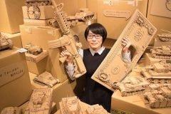 Monomi Ohno esculturas de cartón (4)