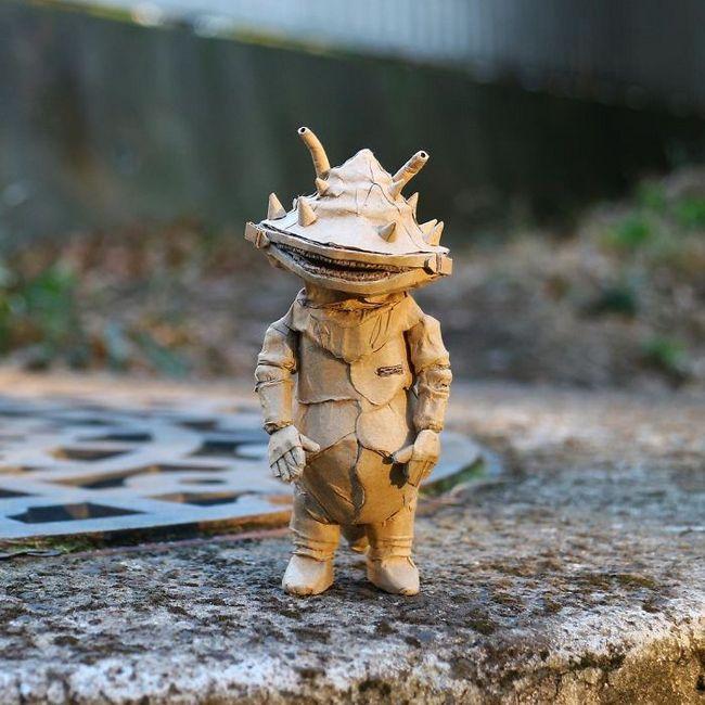 Monomi Ohno esculturas de cartón (6)