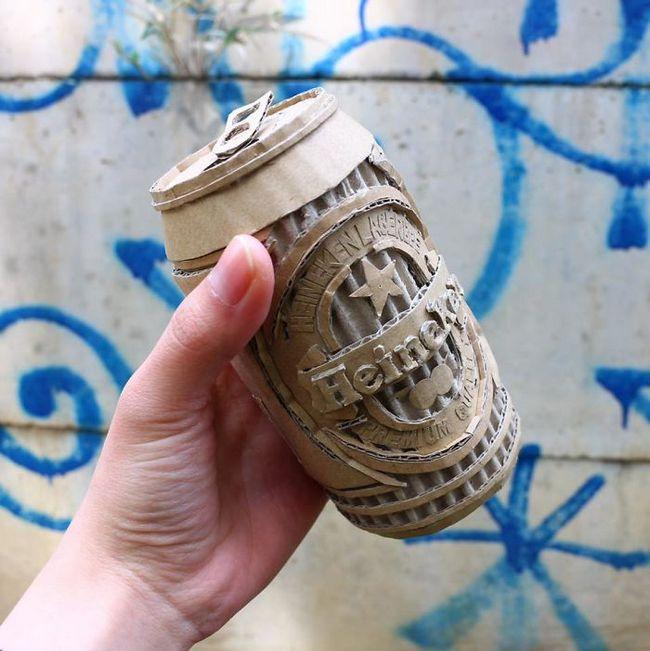 Monomi Ohno esculturas de cartón (7)