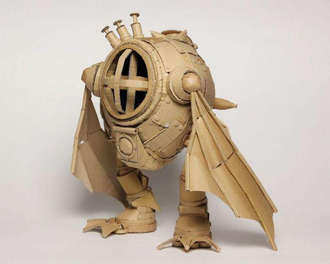 Monomi Ohno esculturas de cartón (8)