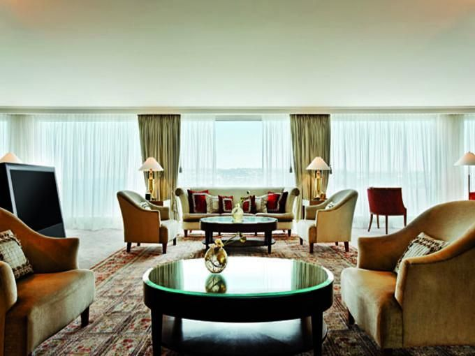 President Wilson royal penthouse suite